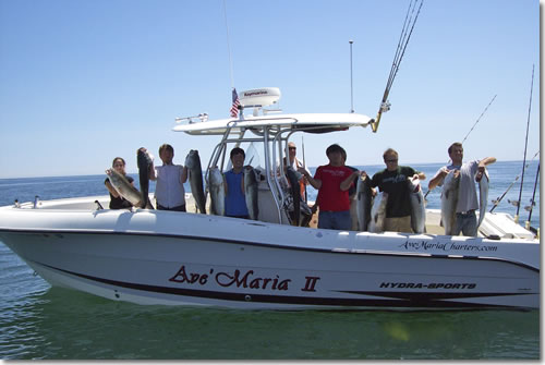 Ave Maria Deep Sea Fishing Charter near Boston, MA