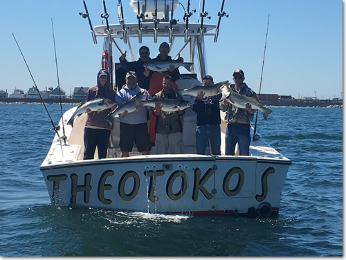 Fishing charter boats for Boston fishing charters